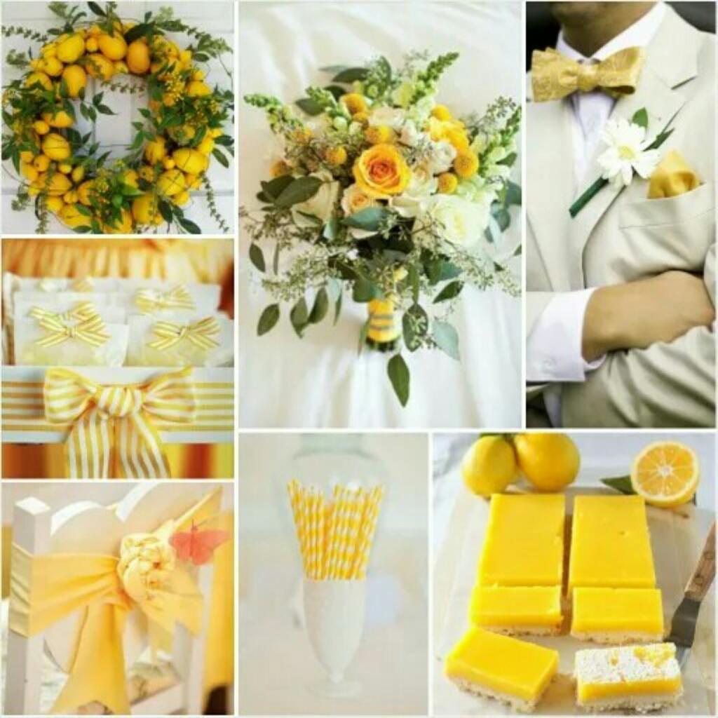 Bridal Style Board: Citrus