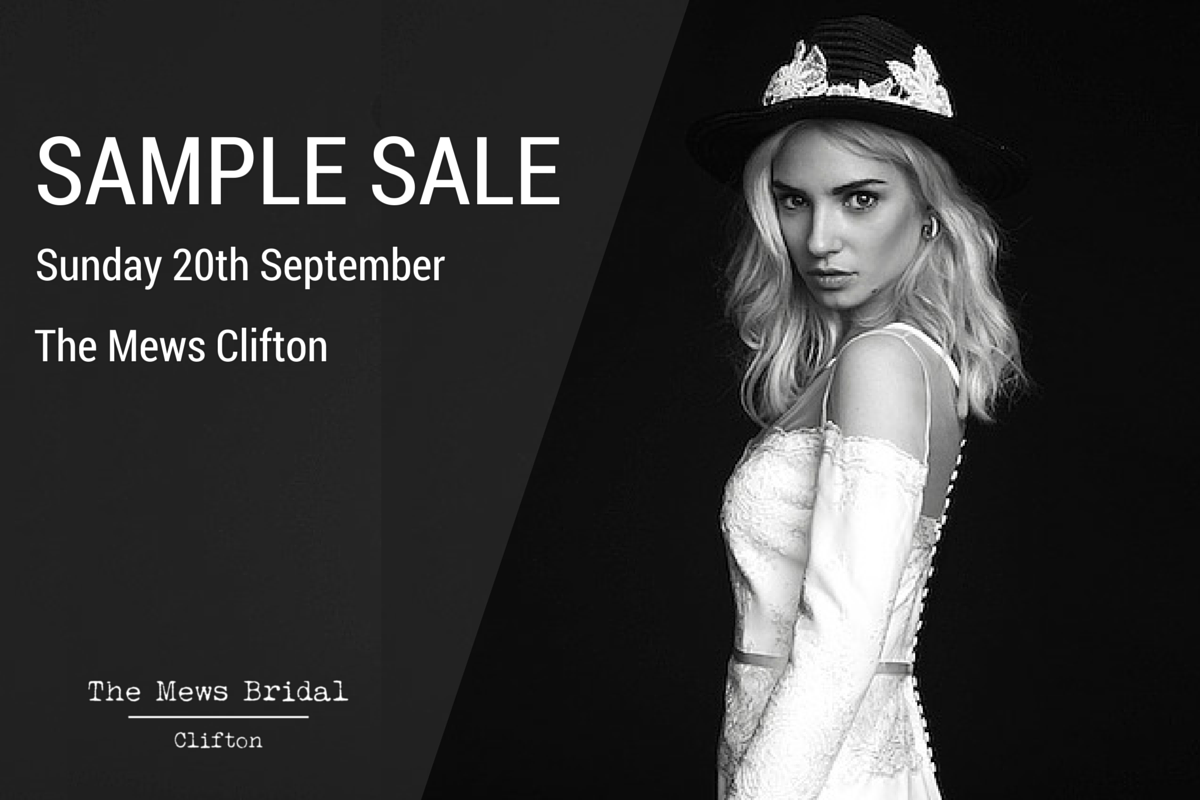 Sample Sale at The Mews Clifton
