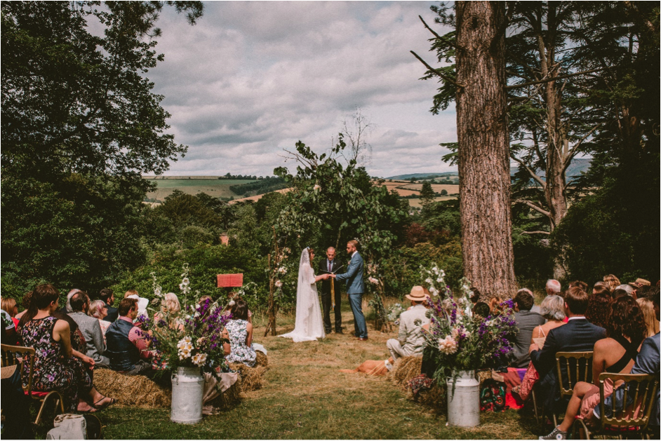 Blue Sky Thinking - Planning an outdoor wedding